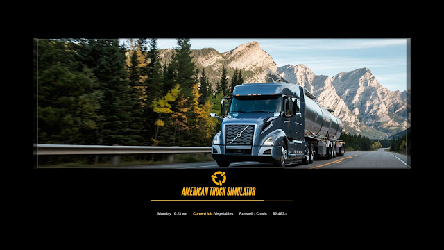 ats new photo loading screens 3, volvo vnl