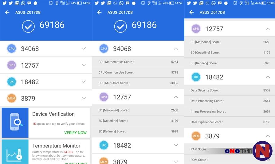 Asus Zenfone 3 ZE520KL Resmi Mendapatkan Update Oreo 8.0 dan ZenUI 4.0
