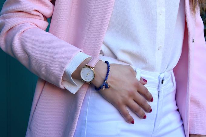 orologio cluse minuit gold rosa