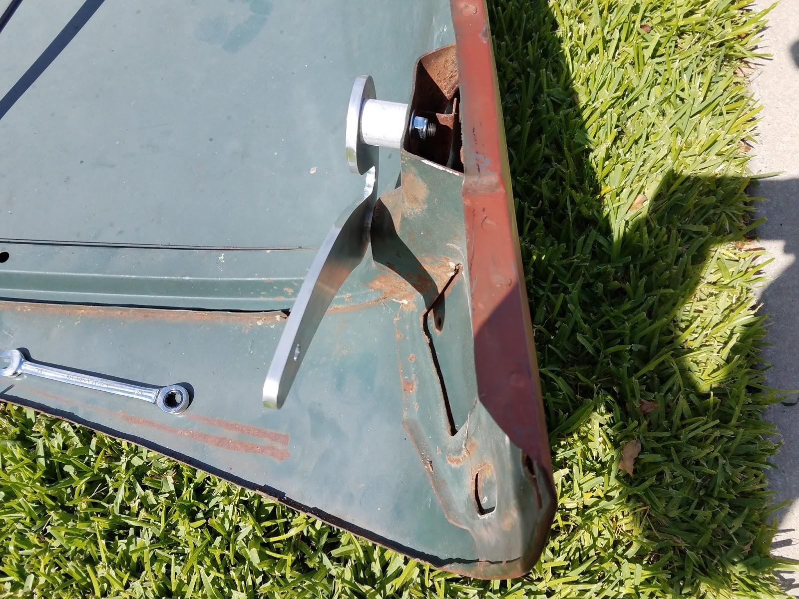 1956 Ford F100 Build: Tilt Forward Hood Kit Install - Part 2