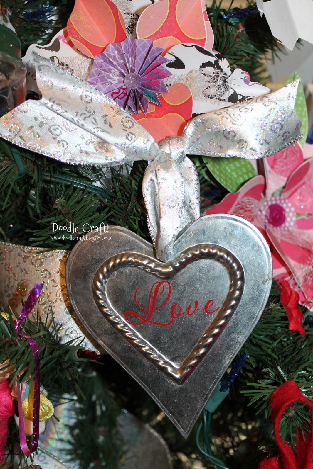 doodlecraft love heart ornaments. Black Bedroom Furniture Sets. Home Design Ideas