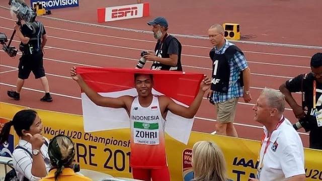 zohri, olahraga, pelari, juara dunia