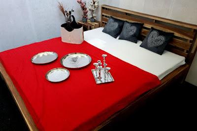 masívny nábytok Reaction, posteľové rámy, drevené postele