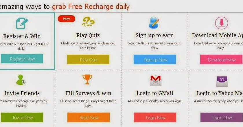 Earn Money Online Through Way2Sms and Recharge Your & Others