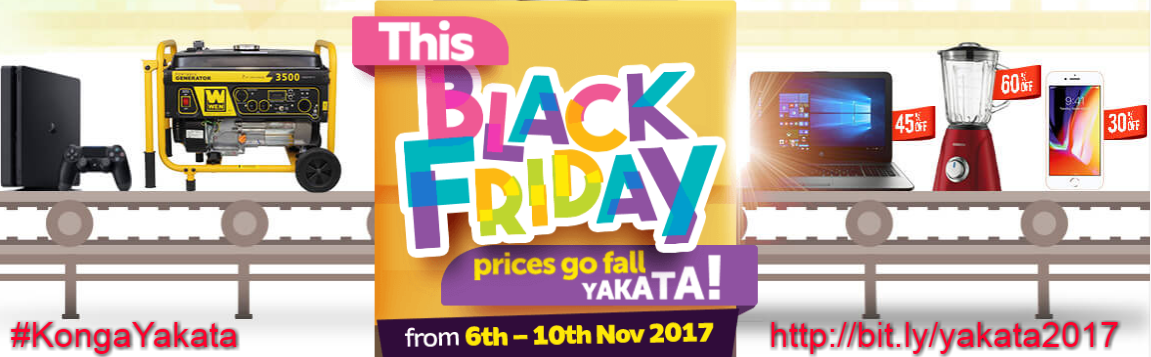 konga black friday yakata 2017