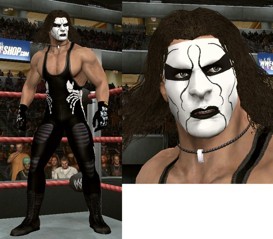 Sting CAW for WWE SmackDown vs RAW 2010 Xbox 360   Create a