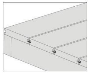 gambar pemasangan papan kayu komposit - 6