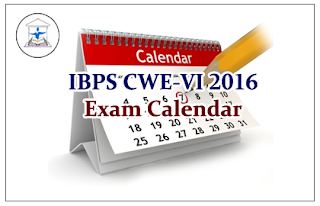 IBPS Exam Calendar for the year 2016- Check Here