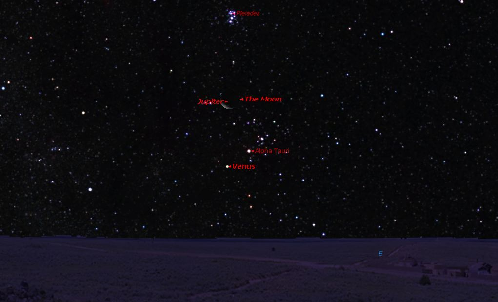 Rare Sky Event: Moon to Occult Jupiter, July 15/2012