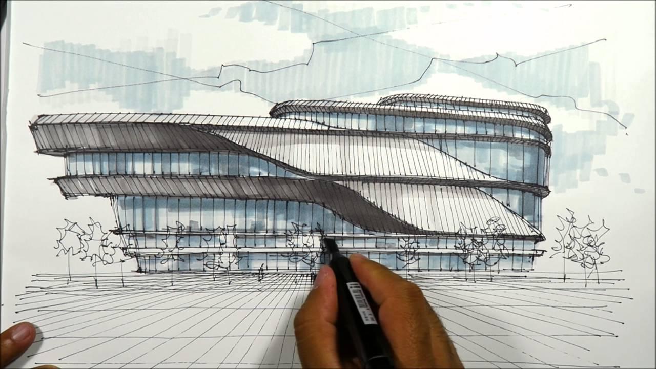 Inilah Alasan Kenapa Sketsa Penting Dalam Arsitektur