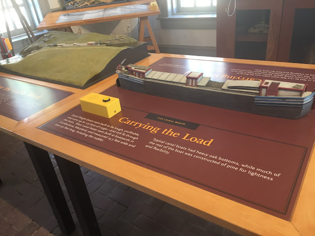 Learning the history of transporting goods through the Chesapeake and Ohio Canal