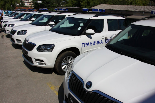 Czechia donates 25 police vehicles to Border Police