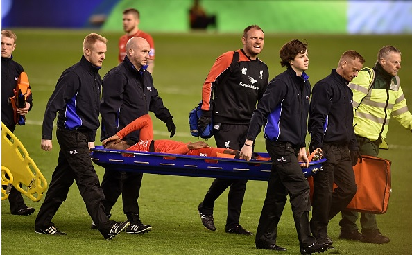 Liverpool striker Divock Origi out with an ankle injury