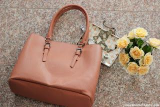 Fashion: Justfab Taschen - perfekte Shopper für die Arbeit! - www.annitschkasblog.de