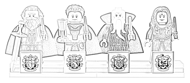 coloring pages lego harry potter hogwarts great hall