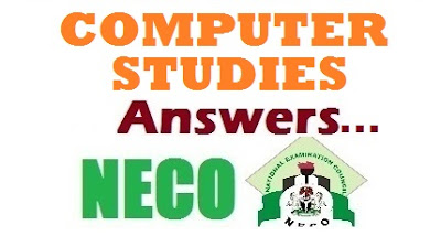 2017 NECO Computer Studies Questions/Answers 2017 | OBJ and Theory Answers Expo