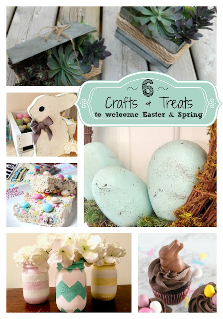 6 Crafts & Treats to welcome Easter & Spring : Friday Favorites Features - Week 313