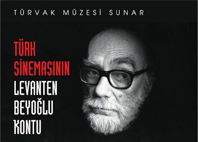 Türk Sinemasının Levanten Beyoğlu Kontu Sergisi - Giovanni Scognamillo