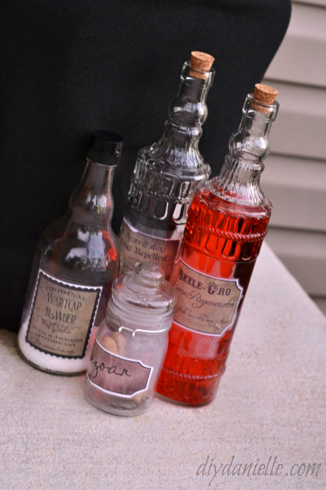 DIY Potions Bottles