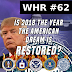 White Hats Report #62 | 2018 - The year the American dream is restored?