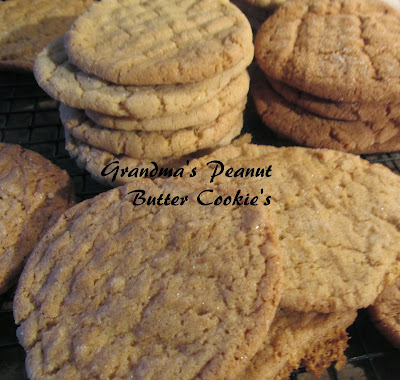 Grandma's Peanut Butter Cookie's