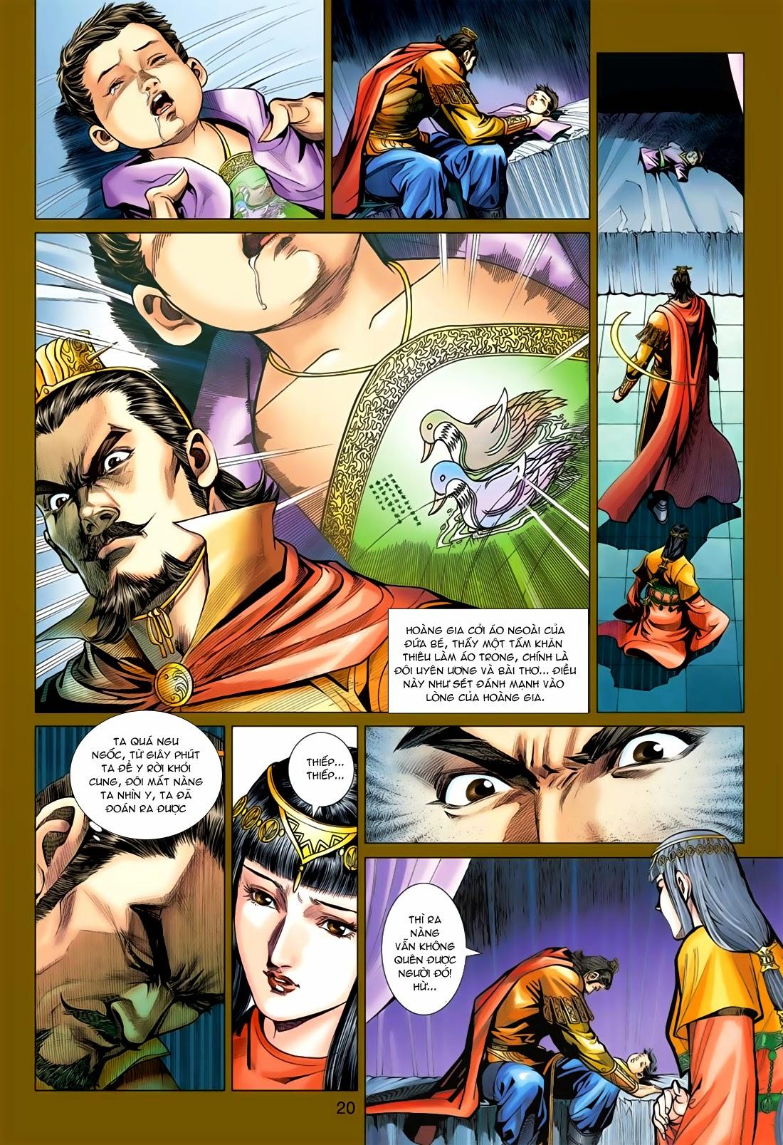 Anh Hùng Xạ Điêu anh hùng xạ đêu chap 78: sát anh trang 20