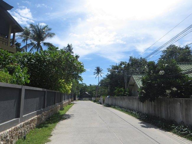 Улица на Самуи
