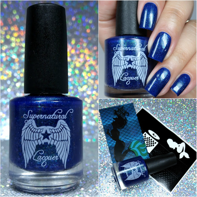 Supernatural Lacquer - The Mermaid Box ft. Bluebird Lacquer