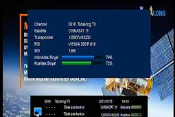 Frekuensi Tabalong TV Terbaru di Chinasat 11 (Kuband) 98.5°E