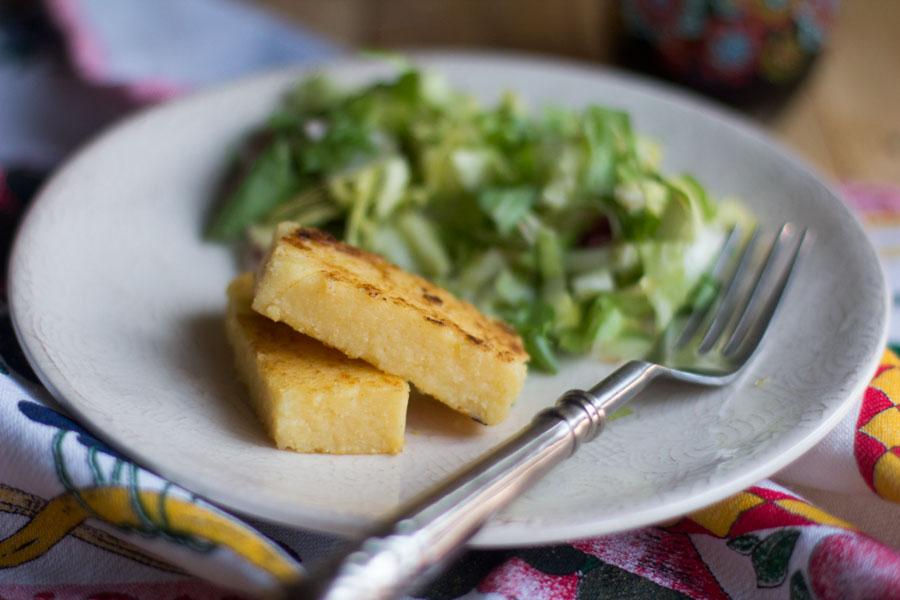 como preparar polenta a la parmesana con thermomix