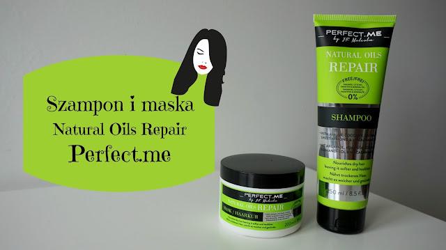 RECENZJA: Szampon i maska Natural Oils Repair | Perfect.me