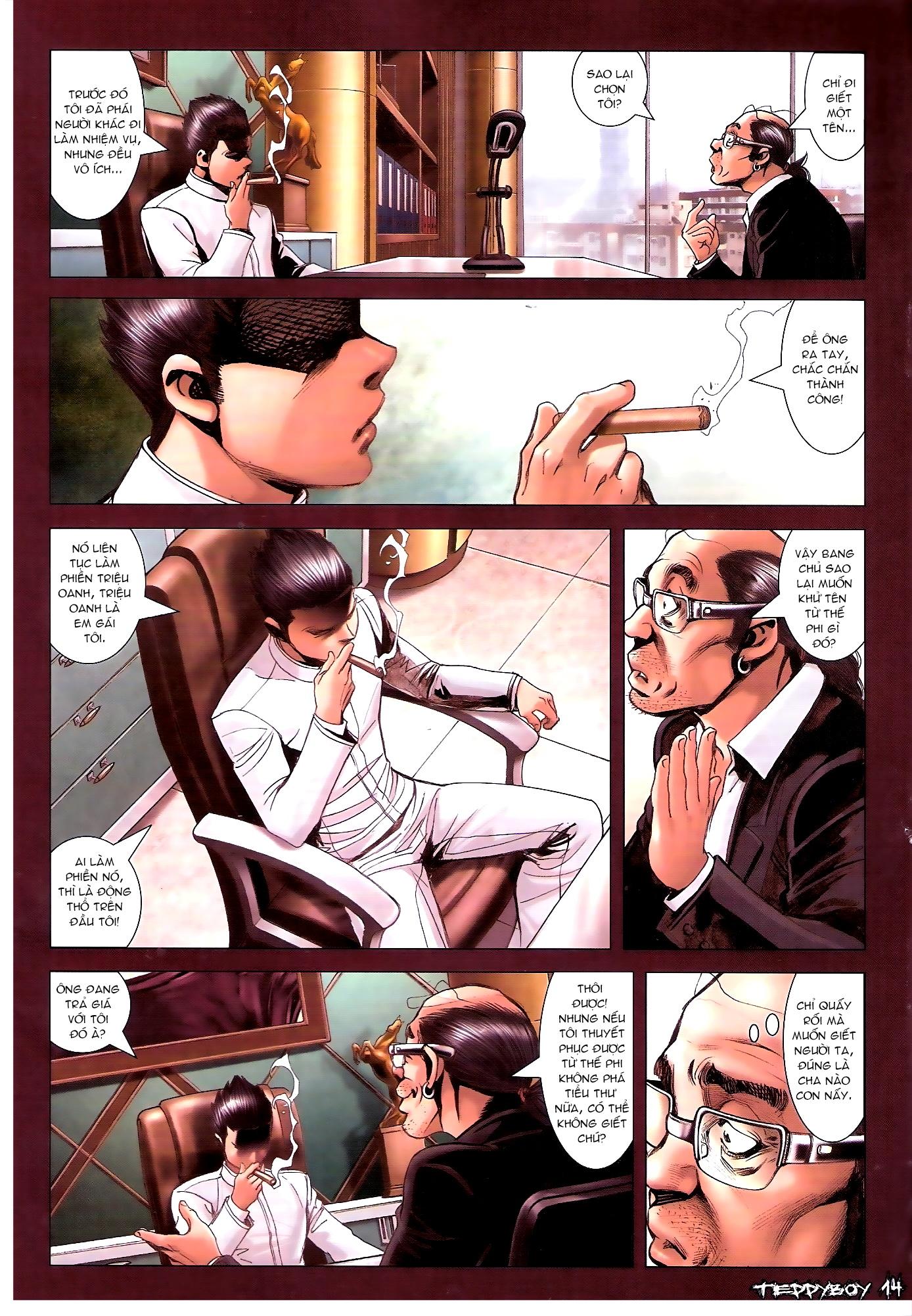 Người Trong Giang Hồ - Chapter 1313: Triệu Kế Bang - Pic 11