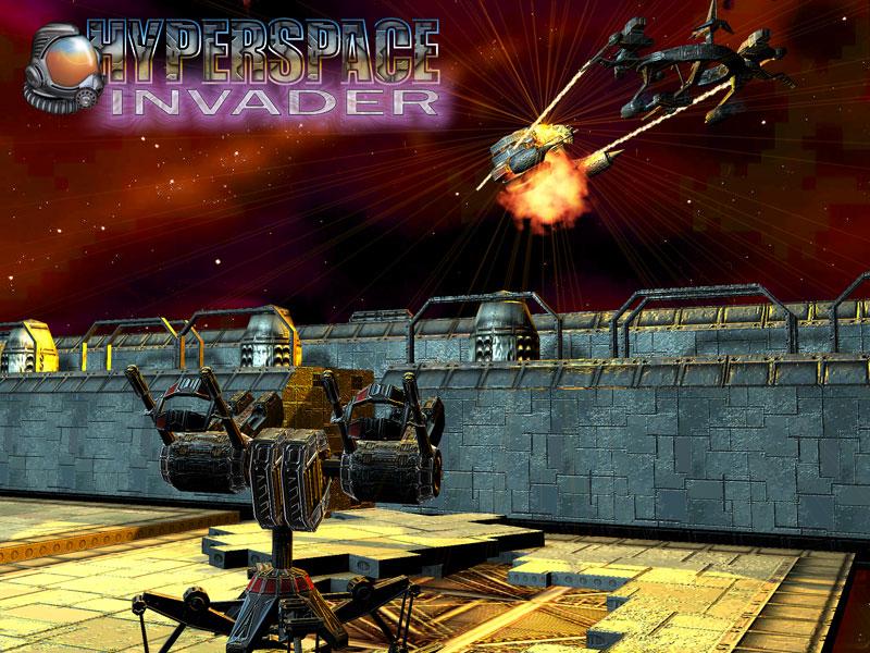 Hyper Space Invader - Katılımsız Oyun
