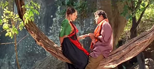 Themavin Kombathu (1994) : Karutha Penne Song Lyrics