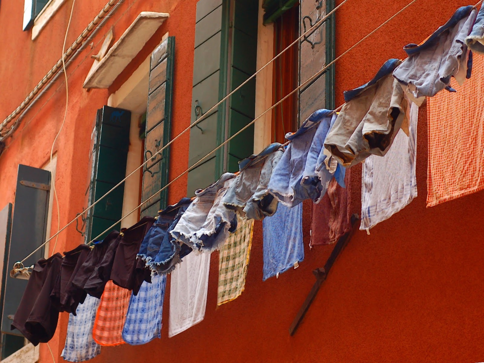 Le Chameau Bleu - Week end à Venise - Rue de Venise Italie