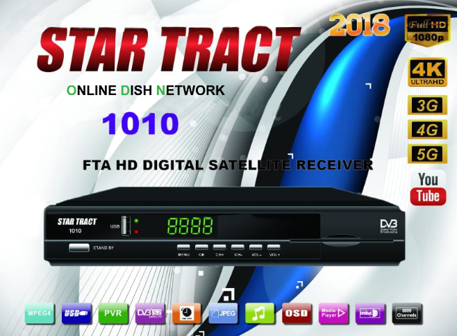 Star Tract 1010 Receiver Software 2018 - Online Dish Network
