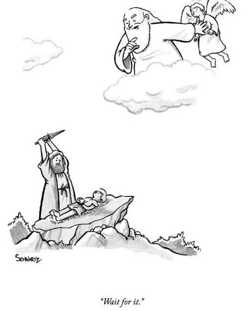 Funny Wait for It religious cartoon picture