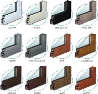 aberturas ovalle hermanos variedad de colores en pvc