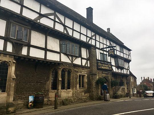 Crinoline Robot: The oldest tavern in England?