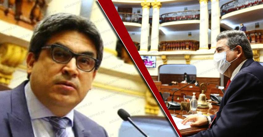 MINISTRO BENAVIDES TRAS RECHAZO DE VACANCIA: Aspiramos a que relación con el Congreso se tranquilice