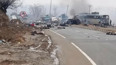 Terror attack on CRPF in Pulwama