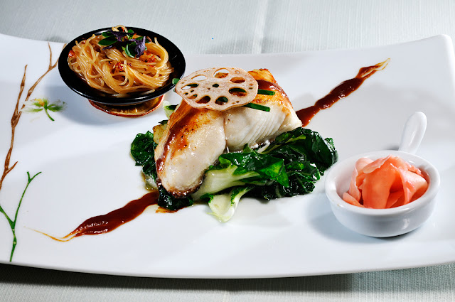 Cod marinat in sos Miso & Miri