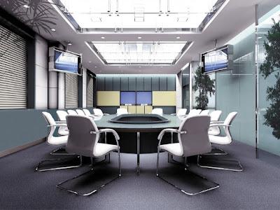 Thiết kế nội thất phòng họp hiện đại