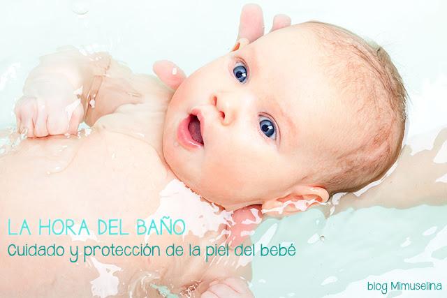 blog mimuselina la hora del baño bebé recién nacido cuidados especiales piel
