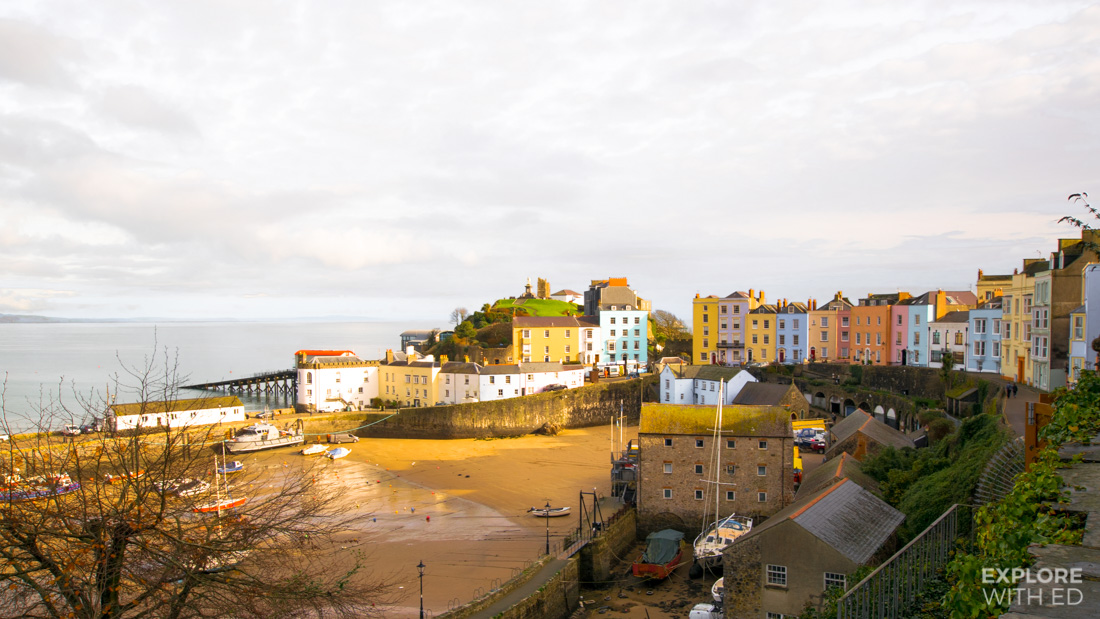 Wales Coast Path in Tenby Pembrokeshire