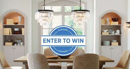 Bellacor is giving you a chance to enter daily to win a $500 Bellacor Gift Card that you can use to make over a room in your home any way you like!