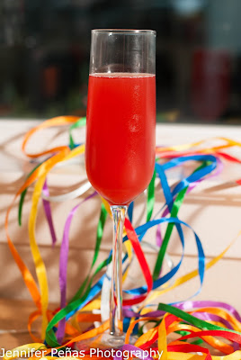 new years eve, new years day, new years cocktails, champagne cocktails, raspberry resolution, champagne, raspberry puree