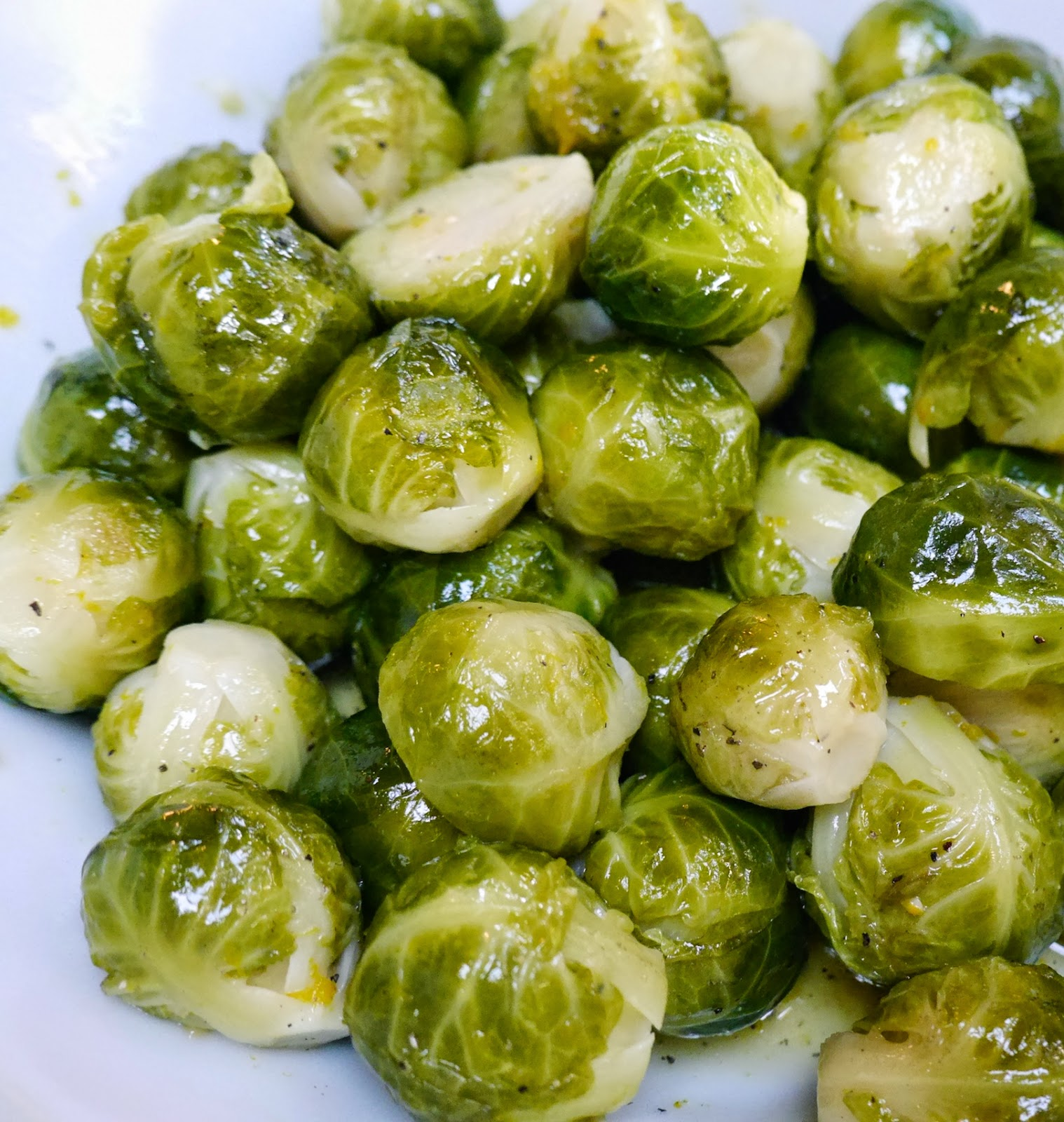 Foods For Long Life Sweet And Orangey Brussels Sprouts