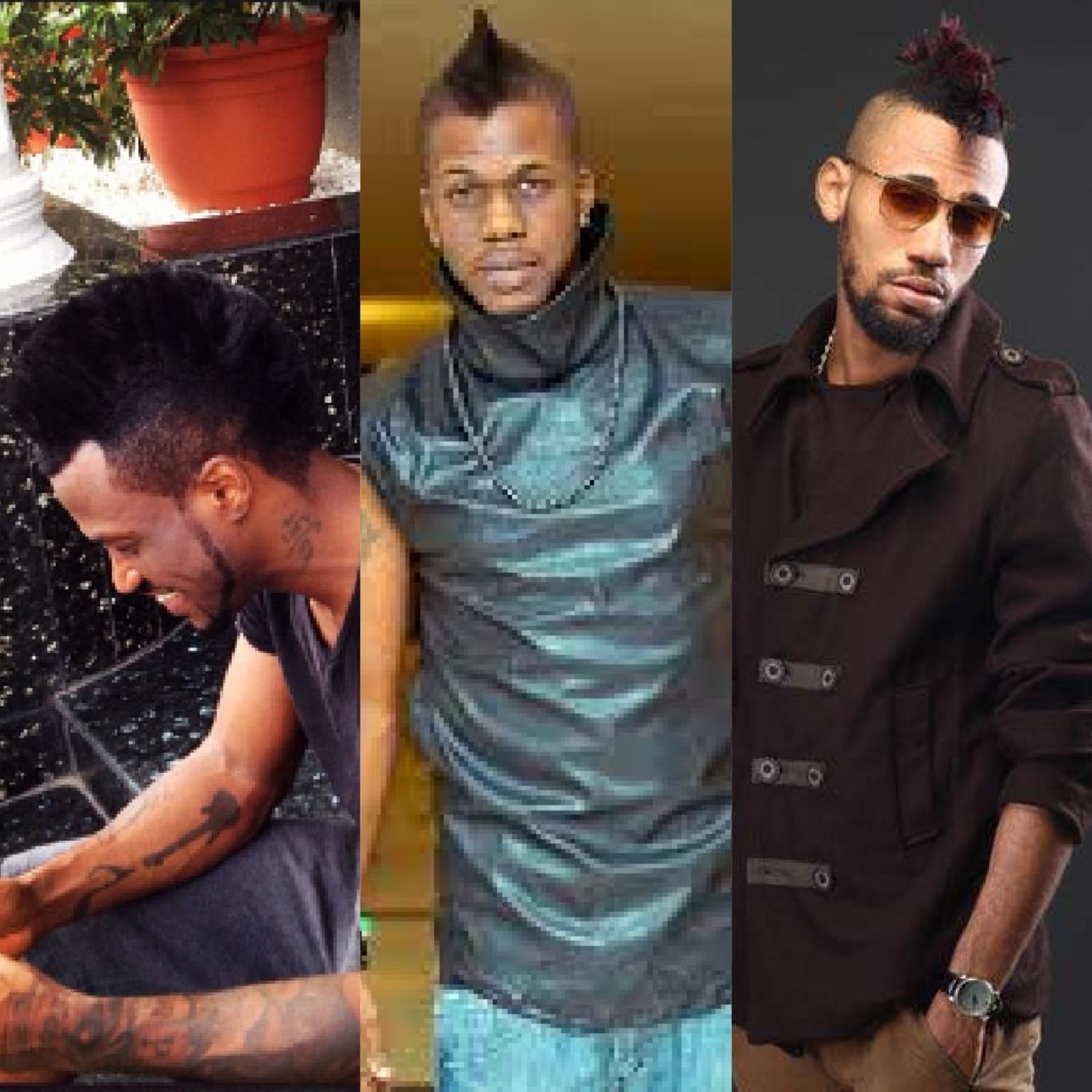 Image result for iceberg slim rapper , P Square and Phyno hairstyle