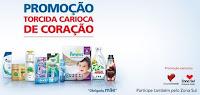 Promoção Torcida Carioca de Coração Zona Sul e P&G www.torcidacariocadecoracao.com.br